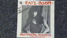 Kate Bush - Cumbres borrascosas (Wuthering heights) 7'' Single SPAIN