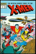 X-MEN, The Official Marvel Index To The #4, Marvel Graphic Novel TPB Nov 1987