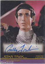 STAR TREK THE COMPLETE MOVIES A35 CULLY FREDRICKSEN VULCAN CAPTAIN AUTOGRAPH