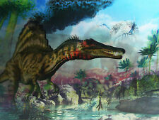 3D Lenticular Poster - Dinosaurs - Prehistoric  - 12x16 Print - 3 images in 1