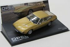 Opel Bitter CD ( 1973-1979 ) gold met. / IXO 1:43