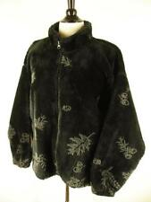 Womens S Coat Jacket Images in Fur by Bear Ridge Outfitters Faux Fur Black Zip