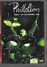 DVD ZONE 2--CONCERT--PHIL COLLINS--FINALLY...THE FIRST FAREWELL TOUR