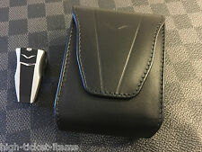Genuine Vertu Aerius Bluetooth Headset with Leather Case MSRP $385 Super RARE