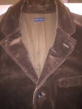 POLO by Ralph Lauren ~ Brown Wide Wale Corduroy Blazer~ Large MSRP:$365