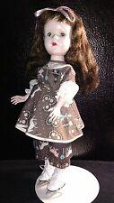 """Vintage 15"""" doll hard plastic walker doll jointed"""