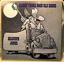 Grandpa Jones Singin Those Good Old Songs LP Vinyl SEALED NEW Western Hillbilly