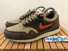 2003 Vintage Nike Air Safari Khaki Dragon Red  Baroque Brown Leather US Size 6