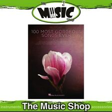 New The 100 Most Gorgeous Songs Ever PVG Music Book - Piano Vocal Guitar