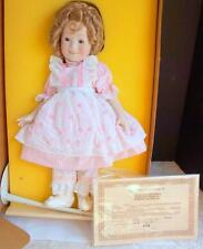 Beautiful 1982 Ideal Limited Edition Porcelain Shirley Temple Doll New in Box