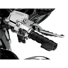 Kuryakyn 6318 Gloss Black Right Side Contoured ISO-Throttle Boss 49-3941