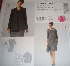 BURDA PATTERN 7163 MISSES MATERNITY DRESS AND JACKET SIZES 8-20 Uncut