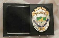 Badge Wallet & ID case for CCW or Police Bi-fold LAPD Oval (no Badge)