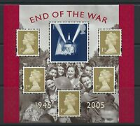 GB 2005 End of the War Mini-Miniature Sheet MS 2547 MNH