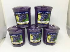 Yankee Candle 5x Vineyard 49g Votives USA EXCLUSIVE VERY RARE