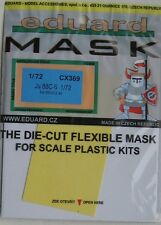 Eduard 1/72 CX369 Canopy Mask for the Revell Junkers Ju88C-6 kit