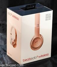 Beats Solo3 Solo 3 Wireless On-Ear Headphones ROSE GOLD- MNET2LL/A