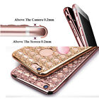 Fashion Crystal Bling TPU Soft Gel Case Cover Skin For Apple iPhone 5 6s 6 Plus