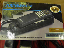 Retro carica Style compatto Telefono Filo Fisso telefono film requisite
