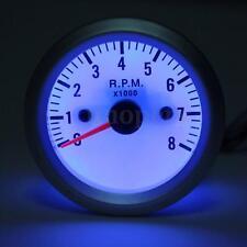 Universale 52mm Led Tachimetro Contagiri Indicatore Contachilometri Luci Auto