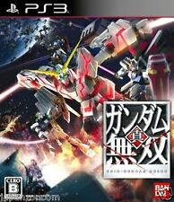 Used PS3 Shin Gundam Musou SONY PLAYSTATION 3 JAPAN JAPANESE IMPORT