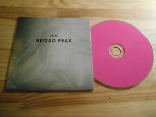 CD Indie Halma - Broad Peak (8 Song) Promo SUNDAY SERVICE cb