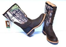 Ariat Hybrid All Weather Round Toe Work Boots 11.5/45 M Oily/Brown Camo Hunting