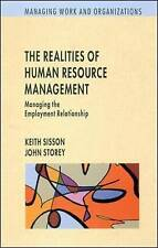The Realities of Human Resource Management: Managing E