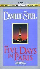 Five Days in Paris (Danielle Steel) Steel, Danielle Audio Cassette
