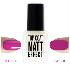 Lemax - Top Coat MATT EFFECT Nail Polish Hardener 9ml