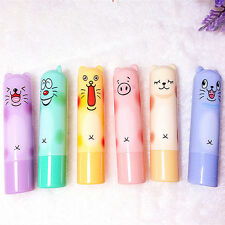 Cute Animal Cartoon Moisturize Makeup Cosmetic Lipstick Lip Balm Women Kid Hot
