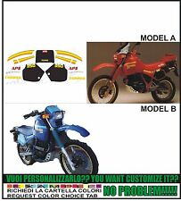 kit adesivi stickers compatibili  tuareg 350 1986
