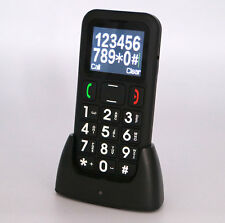 QUAD Band GSM Mobile CELL Phone for Senior Elder BIG KEY BIG FONT LOUD RING BK