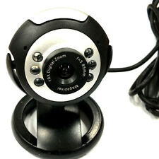 Adorable HD Webcam Camera Web Cam MIC USB 2.0 50.0M 6 LED PC Camera NIUK