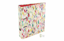 Go Stationery Watercolour lily Design A4 Lever Arch File