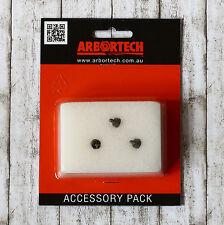 3x Ersatzzähne und Schrauben für Industrial Woodcarver Arbortech