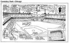 Comiskey Park- Factoid Highlights -Chicago White Sox