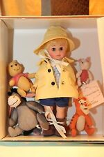 """Madame Alexander 8"""" Doll """"Winnie The Pooh And The Blustery Day""""  38365"""