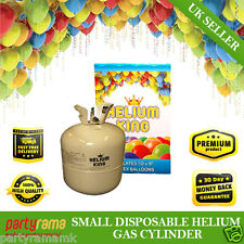 Birthday Party Event Disposable Helium Gas Cylinder Canister Fills 30 Balloons