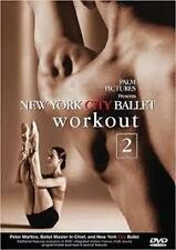 New York City Ballet Workout 2 (DVD+ Booklet), Region-1, Like new (Disc: new)