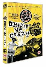 Gumball 3000 Drivin Me Crazy DVD New and Sealed Original UK Release R2
