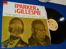 LP CHARLIE PARKER & DIZZY GILLESPIE the BIRTH OF MODERN JAZZ maurice CULLAZ