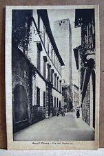 Ascoli Piceno - Via dei Soderini [piccola, b/n, non viaggiata]