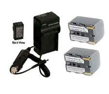 2 Batteries +Charger for Samsung SC-D20 SC-D21 SC-D22 SC-D23 SC-D24 SC-D27 SCD29