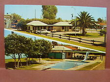 Old Postcard AZ Casa Grande Boots & Saddle Motel