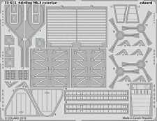 EDUARD 72615 Exterior for Italeri® Kit Stirling Mk.I in 1:72