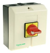 SCHNEIDER EMERGENCY STOP / MAIN SWITCH 63 A, 30 kW, IP65 VCF4GE  - NEW OLD STOCK