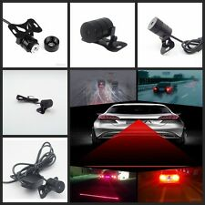 Car Rear LED Laser Fog Light Anti-Collision Taillight Brake Warning Lamp Bulb