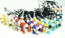 10x Mix Disco Ball Clay Cz beads for shambala Woven bracelet charm Gift #2
