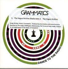 (757A) Grammatics, The Vague Archive - DJ CD
